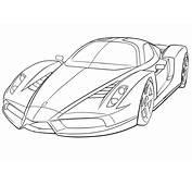 Desenhos De Ferrari Para Colorir Carros Imprimir E Pintar Online