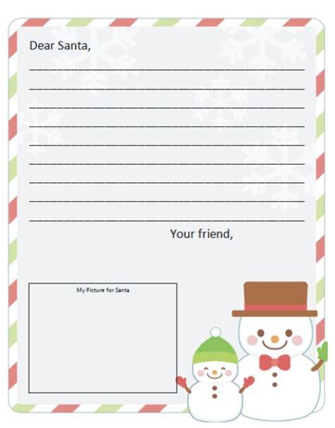 dear santa letter template santa list template new calendar template site