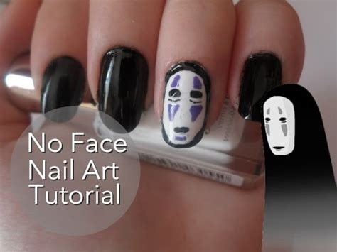 jessie nail art tutorial no face fro spirited away nail art tutorial jessie ginger