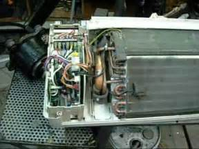 fujitsu evaporator wall unit youtube