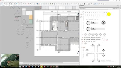 sketchup layout color layout sketchup drawing floor plan part 01 youtube