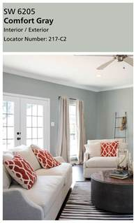 joanna s favorite paint colors sherwin williams comfort gray really isn t gray at all in