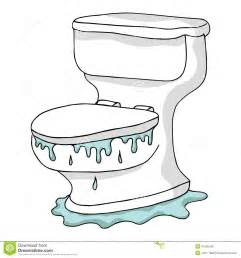 overflowing toilet stock vector image 41425426