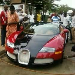 Ibrahim Mahama Bugatti N320m Bugatti Veyron Car Spotted In Abuja Photo
