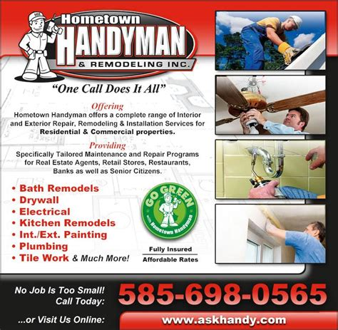 9 Best Images Of Free Home Remodeling Flyer Home Inspection Flyer Templates Free Handyman Home Improvement Flyer Template