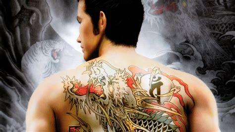 tattoo yakuza 2015 original yakuza coming to ps4 and ps3 in remastered form