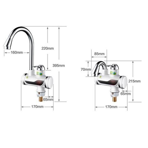 Shuzhiyuan Tankless Electric Faucet Water Heater Keran Pemanas Air shuzhiyuan tankless electric faucet water heater keran pemanas air white jakartanotebook