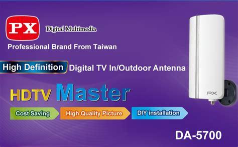 Antena Digital Tv In Outdoor Px Da 5700 Garansi 1 Tahun 1 px digital tv indoor outdoor antenna da 5700 lazada indonesia