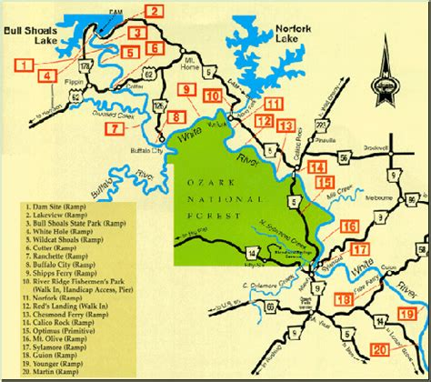 arkansas trout fishing maps pictures white river arkansas map my