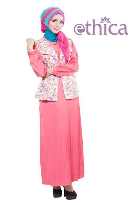 Baju Muslim Ethica Remaja Model Baju Muslim Terbaru 2016 Untuk Pesta Ethica