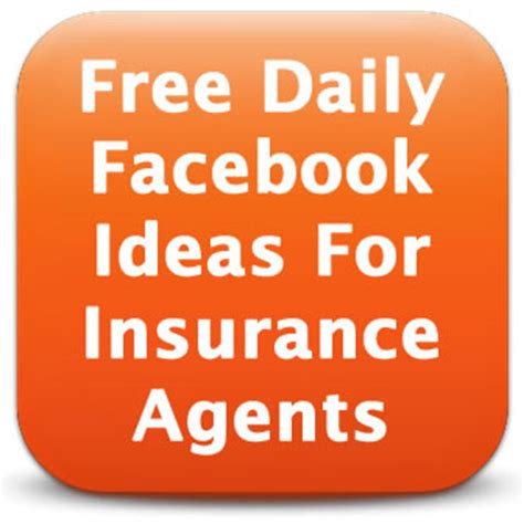 facebook post ideas for insurance agents | free daily