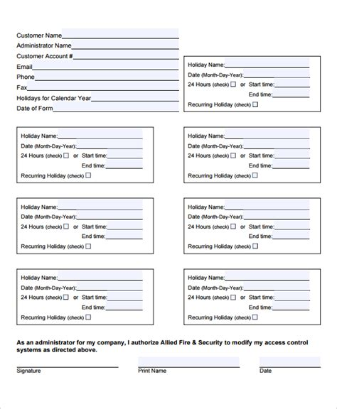 schedule change request form template 10 templates free sle exle format