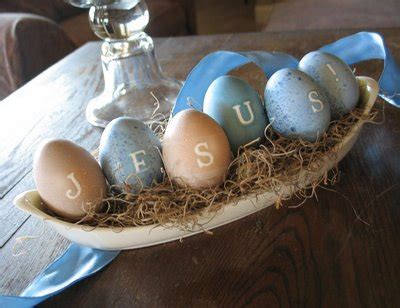 Religious Easter Decorations by Religious Easter Eggs