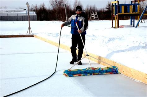 backyard ice rink resurfacer 01 february 2011 cape breton news