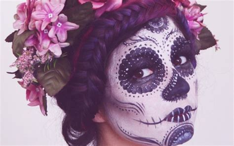 Make Up Viva Satu Paket skull makeup makeup daily