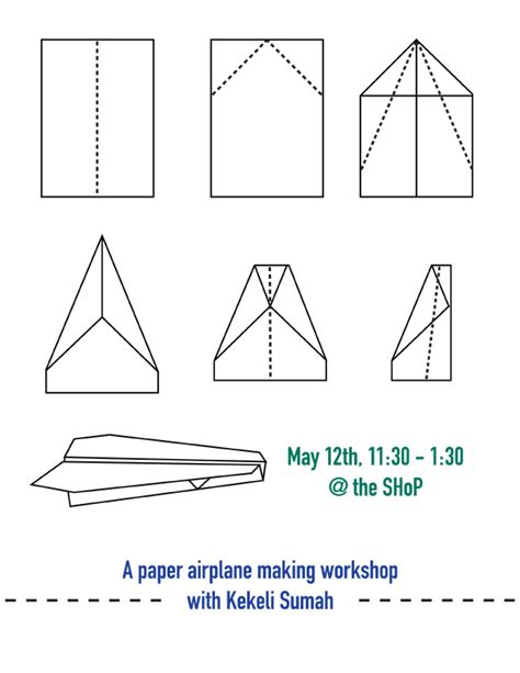 How To Make Your Own Paper Airplane - paper plane blueprints