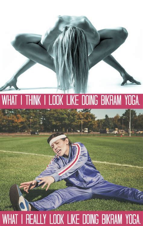 funny picture of hot yoga funny thoughts from my first bikram yoga hot yoga class