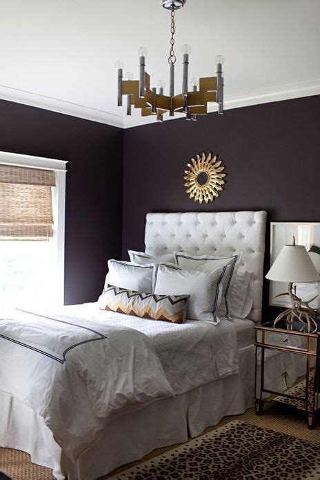 guest bedroom colors lovely contrast touches of gold glam bedrooms