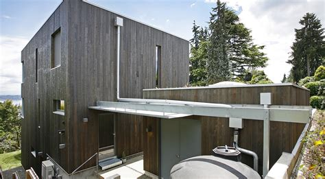 shed style architecture ultra green madrona passive house in seattle marries
