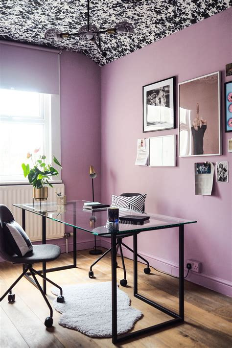 That Gives You Some Ideas 28 Images 21 Petty Stories - office makeover reveal lavender black and brass vibes