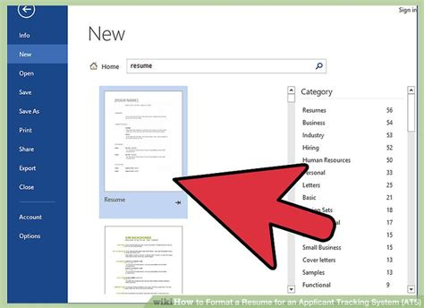 how to format resume for applicant tracking system how to format a resume for an applicant tracking system ats