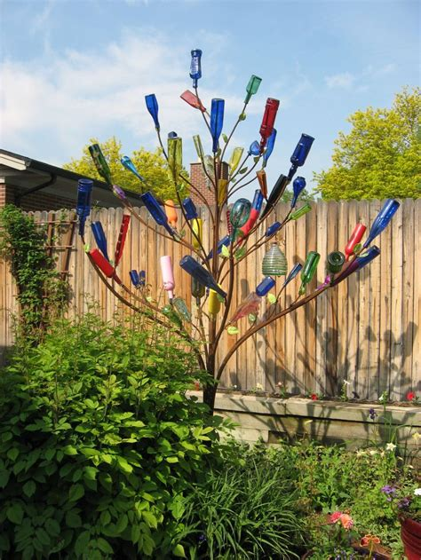 Gardeners Supply Bottle Tree 17 Best Ideas About Wine Bottle Trees On