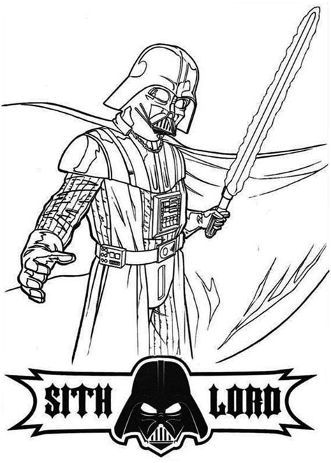 darth vader coloring pages free coloring home
