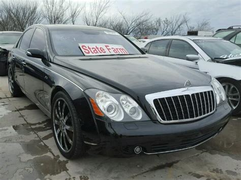 Maybach Dallas by 2008 Maybach 57 S For Sale Tx Dallas Salvage Cars