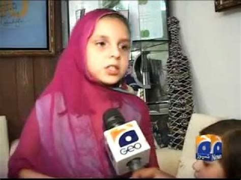 shahid afridi daughter talk about worldcup | doovi