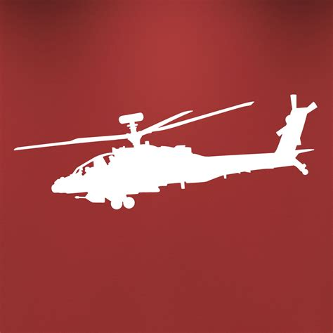 helicopter wall stickers apache helicopter wall decal sticker
