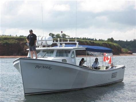 fishing boat for sale pei top notch charters lobster excursions charlottetown