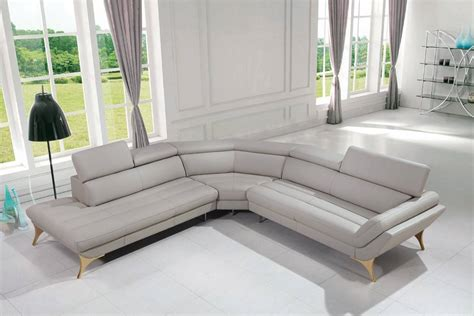 Luxury Italian Top Grain Leather Sectional Sofa Dallas Luxurious Leather Sofas