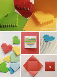 Manualidades tarjetas de san valent 237 n en papel valentine