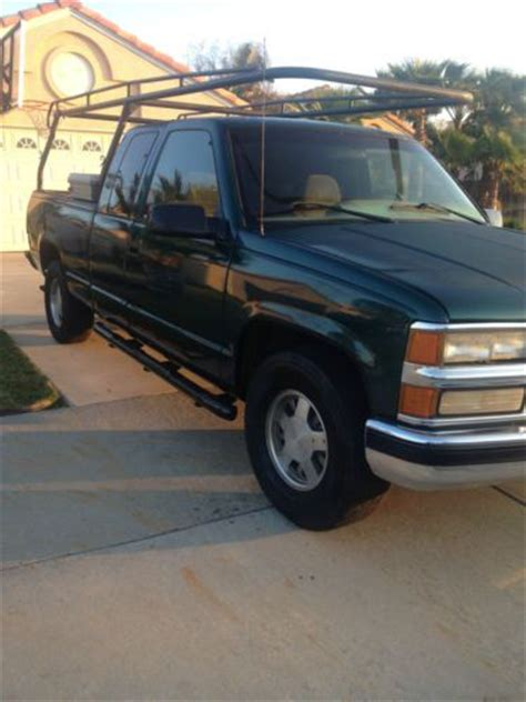 how do cars engines work 1995 chevrolet 1500 electronic valve timing sell used 1995 chevy c1500 work truck w racks toolbox in rialto california