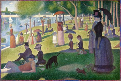 Mystery Island Kitchen Daily Artist Georges Seurat December 2 1859 March 29