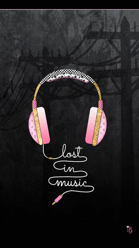 girly music wallpaper ibabygirl put your headphones on even my phone wants to