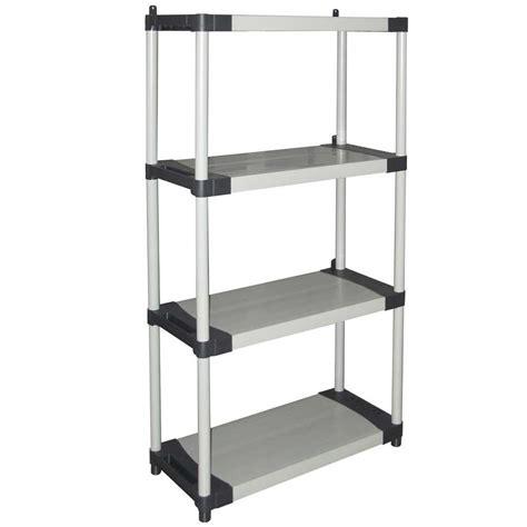 scaffali componibili scaffale componibile ripiani cm in plastica grigio