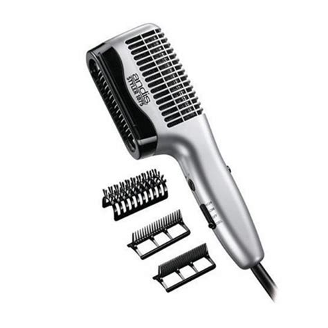 Hair Dryer With Brush Attachment Reviews andis styler 1875 ceramic dryer world class kuts