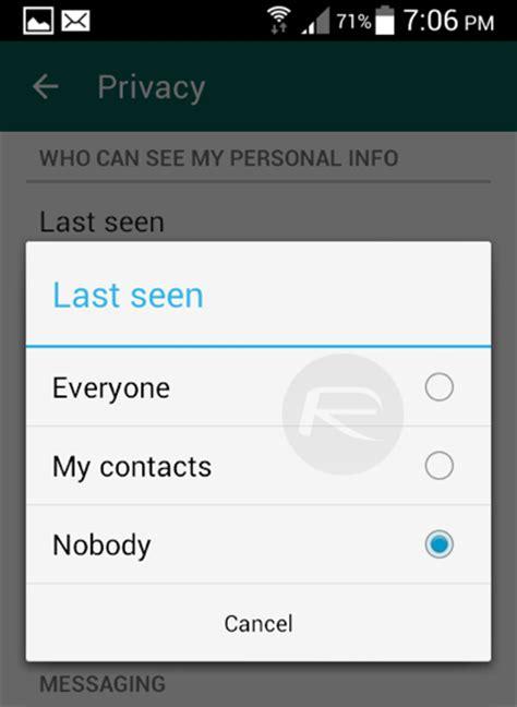 whatsapp online tutorial whatsapp plus hide last seen android