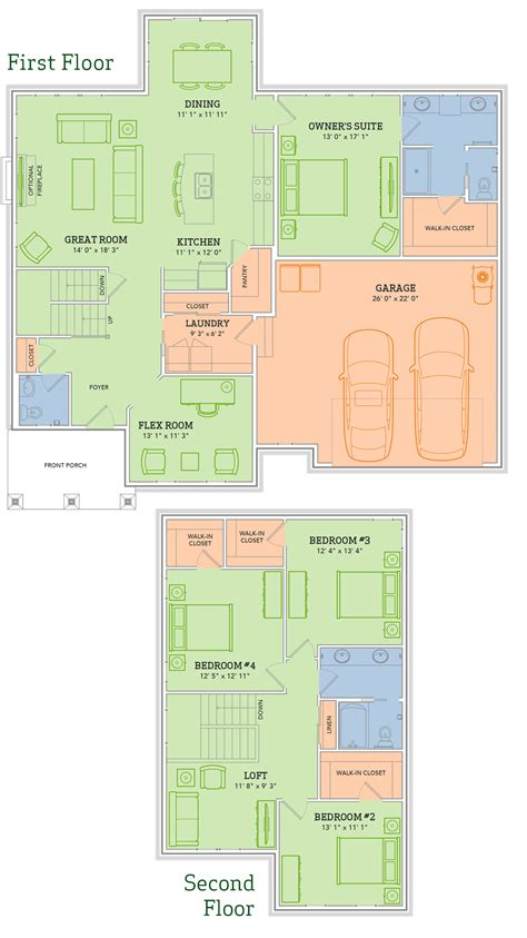 veridian homes floor plans the carmichael home plan veridian homes
