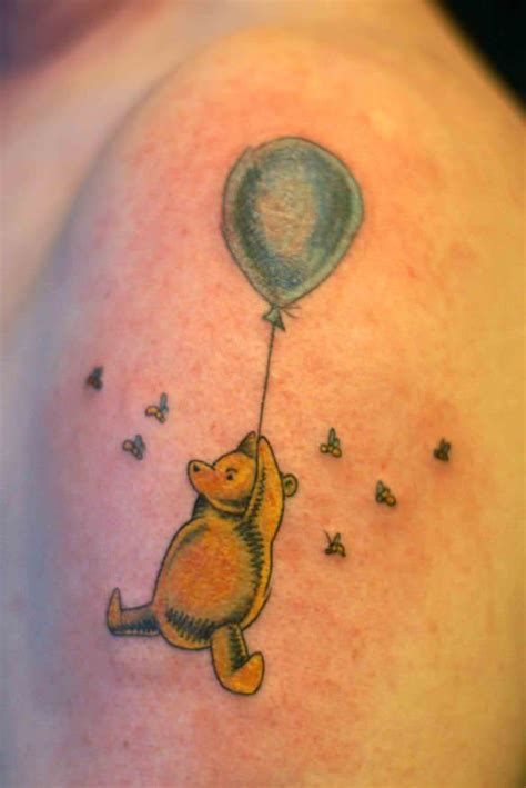 pooh bear tattoos winnie the pooh tattoos designs ideas and meaning