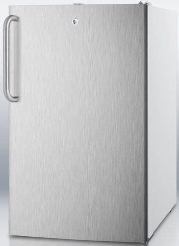Panci Stainless 20 Cm Ada Flat summit ff511l7sstbada commercially listed ada compliant 20 quot wide counter height all refrigerator
