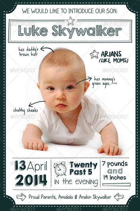 baby announcements card template 15 printable baby shower cards templates