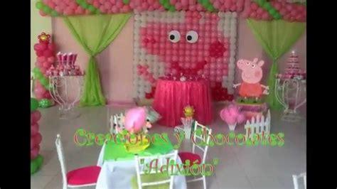 decoracion cumplea os peppa pig decoraci 242 n de cumplea 241 os de peppa pig