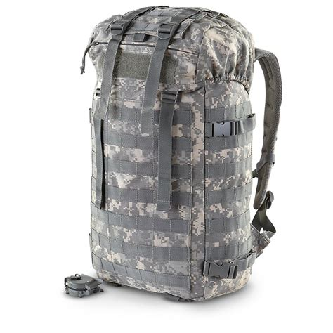 army webbing backpack new u s army surplus tactical rucksack army digital