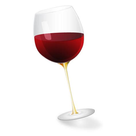 cartoon wine glass create a stylized semi realistic wine glass