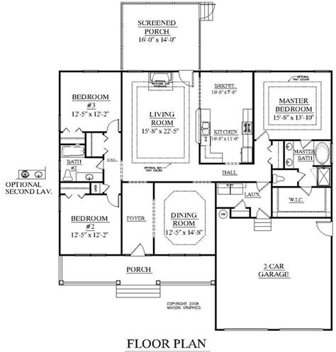 ellington floor plan southern heritage home designs house plan 1941 a the