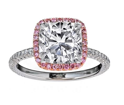 engagement ring cushion engagement ring