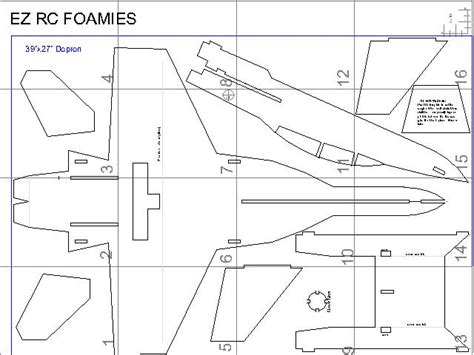 free rc plans ez rc foamies