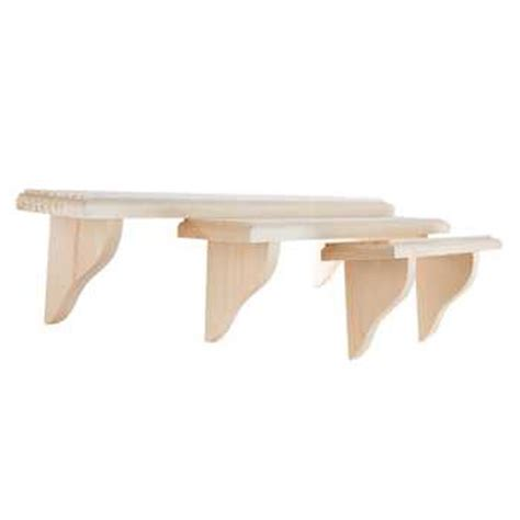 hobby lobby shelves set of 3 shelves hobby lobby 657916